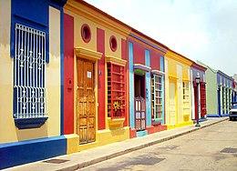Calle Carabobo de El Saladillo