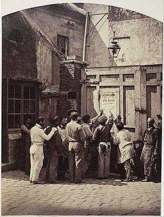Camille Silvy - Image: Camille Léon Louis Silvy The Day's Orders (L'Ordre du Jour) Google Art Project