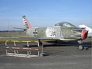 Canadair Sabre Berlin Luftwaffen Museum
