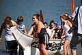 Canoe Arriving On Shore (2700497843).jpg