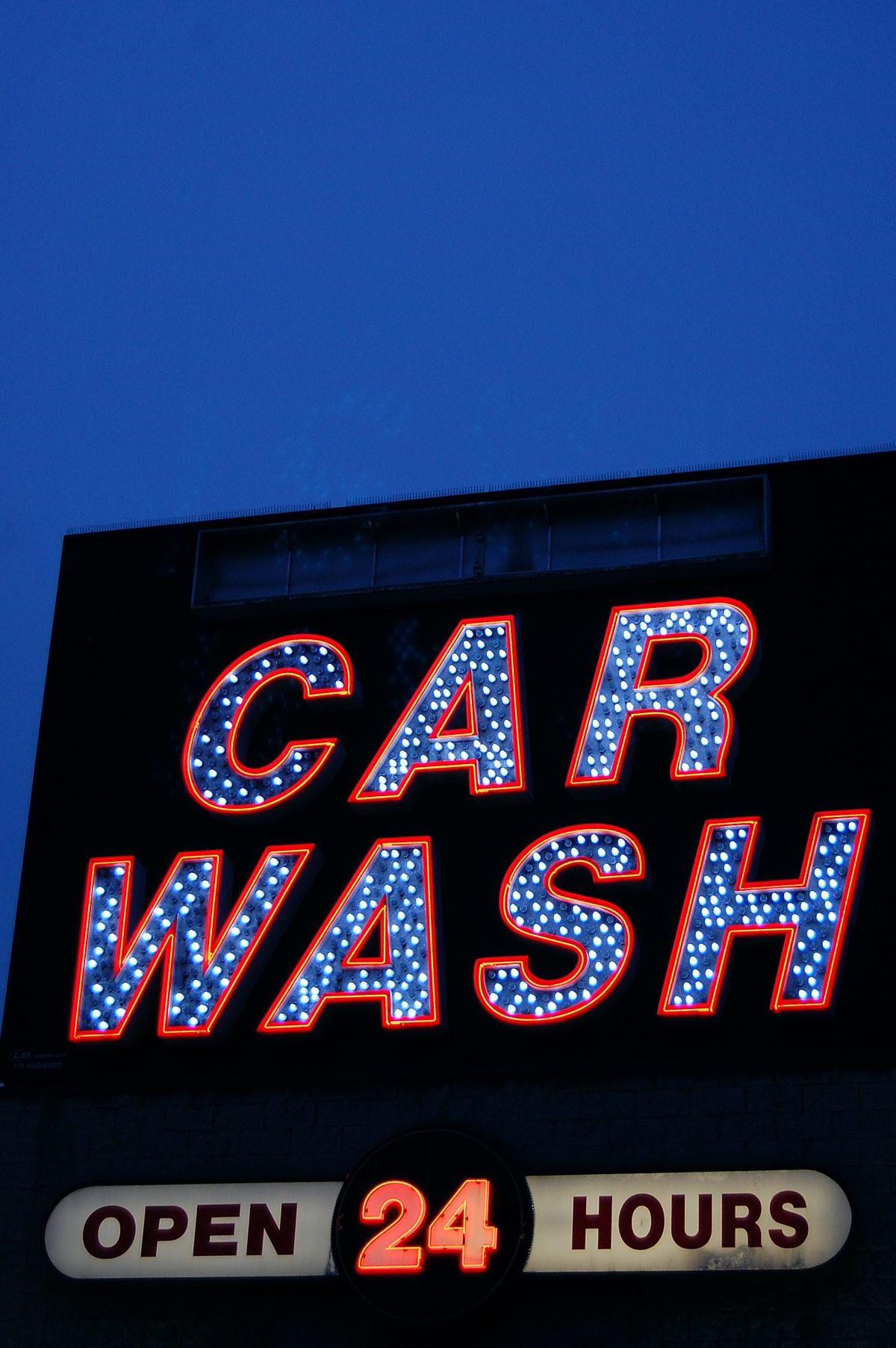 Car wash Wikiquote