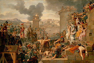 Quintus Caecilius Metellus Macedonicus - Metellus raising the siege, now at the Hermitage Museum in St. Petersburg.
