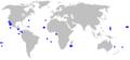 Galapagos shark geographic range