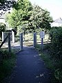Cardiff -Coryton Railway foot crossing - geograph.org.uk - 1438760.jpg