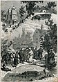 Carkva-kirmaš-młyn-pieravoz, Horadnia-Pinsk. Царква-кірмаш-млын-перавоз, Горадня-Пінск (1882).jpg