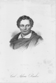 Carl Adam Bader (Quelle: Wikimedia)