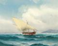 Carl Bille - Marine med sejlskib i Middelhavet.png