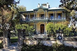 Carl Wilhelm August Groos House (San Antonio) - Image: Carl groos house san antonio 2014