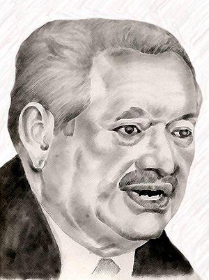 Carlos Roberto Reina - Sketch of Carlo Roberto Reina