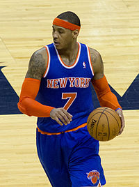 Carmelo Anthony 2013.