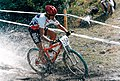 Caroline Alexander GB CC MTB European Championship Spindleruv Mlyn 1995.jpg