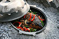 Carp cooked in a sač.jpg