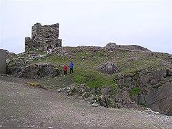 Carrickabraghy Castle, Doagh Island - geograph.org.uk - 1333290.jpg