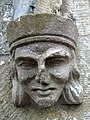 Carved figure, Chapel of Ease - geograph.org.uk - 937281.jpg