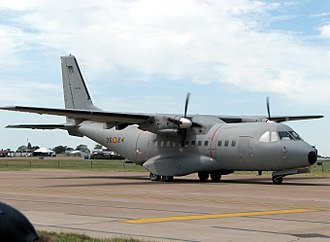 Mérida Initiative - CASA CN-235 transport aircraft.