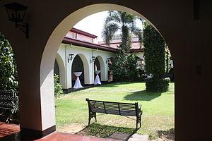 Casino Español de Manila - Arched terraces surrounding the courtyard.