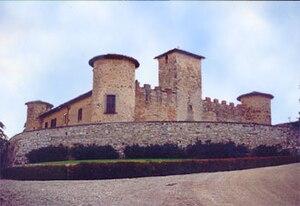 San Casciano in Val di Pesa - Castle of Gabbiano.