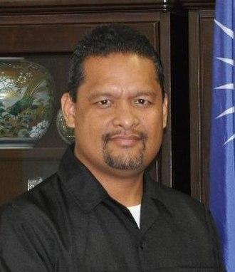 President of the Marshall Islands - Image: Casten Nemra