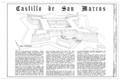 Castillo de San Marcos, 1 Castillo Drive, Saint Augustine, St. Johns County, FL HABS FLA,55-SAUG,1- (sheet 1 of 11).png