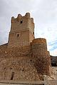 Castillo de Villena barbacana y torre SO (2).JPG