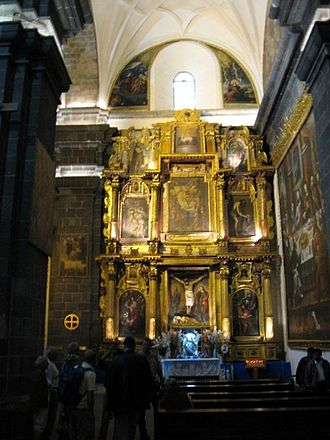 Cathedral Basilica of Our Lady of the Assumption, Cusco - Interior view