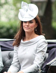 Catherine al Trooping the Colour nel 2012