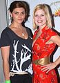 Caytlin Borgen, Caroline Macey at 2007 Hollywood Cure for Pain Benefit 2.jpg