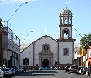 Nuestra Señora de Guadalupe Cathedral in the c...