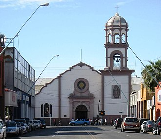 Mexicali - Cathedral of Our Lady of Guadalupe in Downtown Mexicali