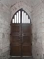 Celles (24) église portail intérieur.JPG