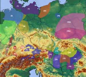 Unetice culture - Image: Central Europe Reinecke BA1