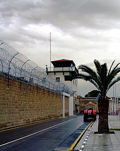 Central Jail of Nicosia watch post.JPG