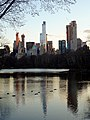 Central Park - The Lake panorama 2 (New York) (44520476144).jpg
