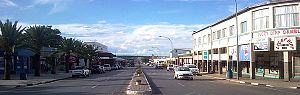 Otjiwarongo - The Central Business District of Otjiwarongo