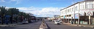 Otjiwarongo - The Central Business District of Otjiwarongo