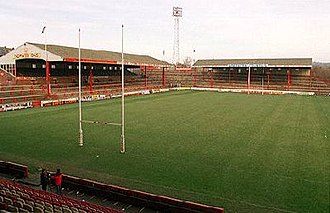 Wigan Warriors - Image: Central park kop