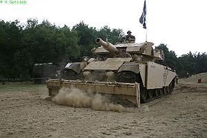 Armoured Vehicle Royal Engineers - Centurion AVRE