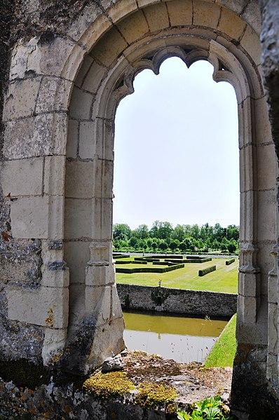 Jardin Château de Saint Denis sur Loire