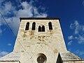 Château-l'Évêque église Preyssac clocher.JPG
