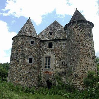 Carlat - Chateau of Celles