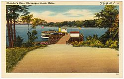 Chandler's Cove postcard