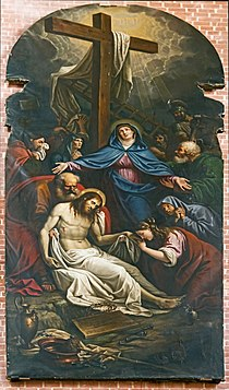 Chapel of Mary Magdalene - The Deposition of Christ by Lattanzio Querena.jpg