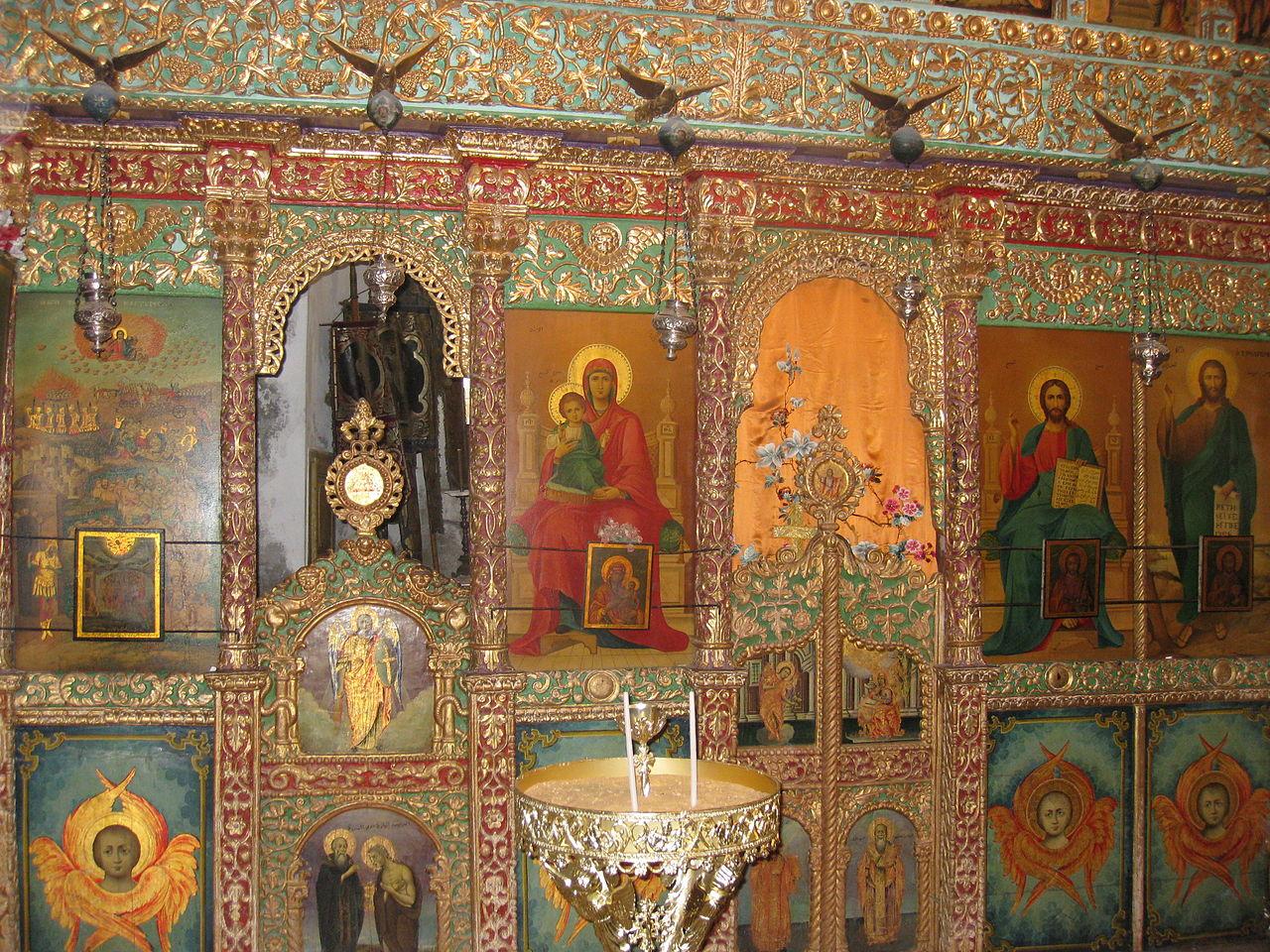 Die Kapelle der 40 Märtyrer der Grabeskirche - Sehenwürdigkeit in Israel - vergrößerbar