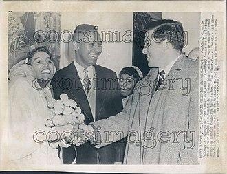 Charles Jenkins Sr. - Image: Charles Jenkins Sr wedding 1956