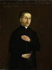 Portrait of Charles van der Meulen, Missionary to Curaçao