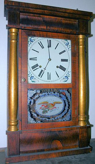 Chauncey Jerome - A 19th-century Chauncey Jerome clock