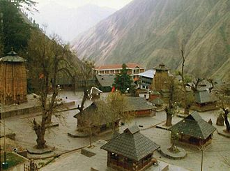 Bharmour - chaurasi temples view