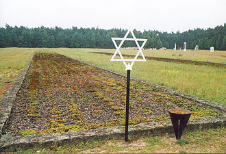 Chełmno extermination camp - Mass grave at the forest Waldlager of the Chełmno extermination camp