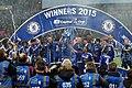 Chelsea 2 Spurs 0 - Capital One Cup winners 2015 (16694010885).jpg