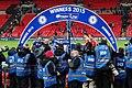 Chelsea 2 Spurs 0 Capital One Cup winners 2015 (16507648948).jpg